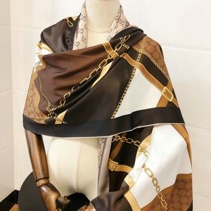brown Color phase  scarf